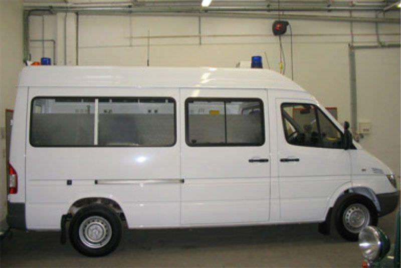 Intensive care medical ambulance / van Merc Sprinter Vorarlberg Dlouhy , Fahrzeugbau
