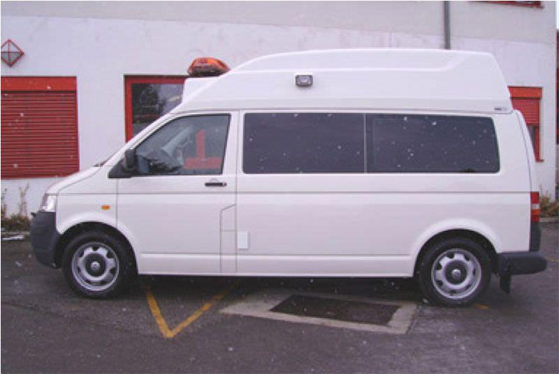 Emergency medical ambulance / light van VW T5 SCA-HD Dlouhy , Fahrzeugbau