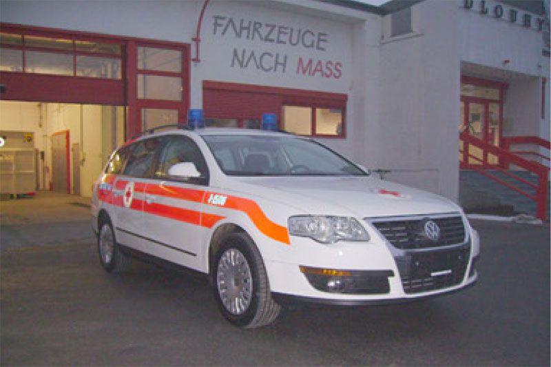 Transport medical ambulance / light van VW Passat Dlouhy , Fahrzeugbau