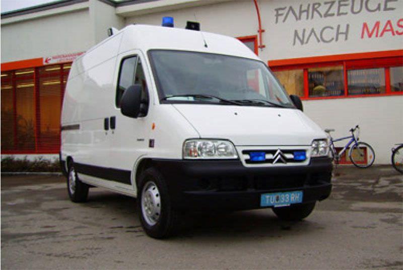Emergency medical ambulance / van Citroen Jumper Dlouhy , Fahrzeugbau