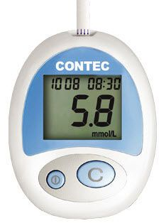 Blood glucose meter 40 - 500 mg/dL | STX Contec Medical Systems
