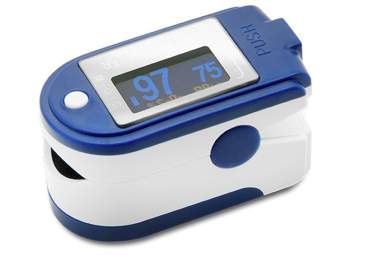 Compact pulse oximeter / fingertip CMS50D+ Contec Medical Systems
