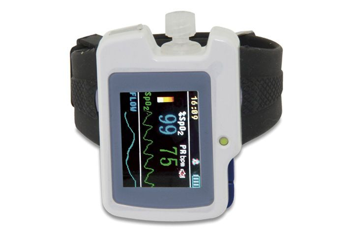 Wrist pulse oximeter / with separate sensor / wireless Contec Medical Systems