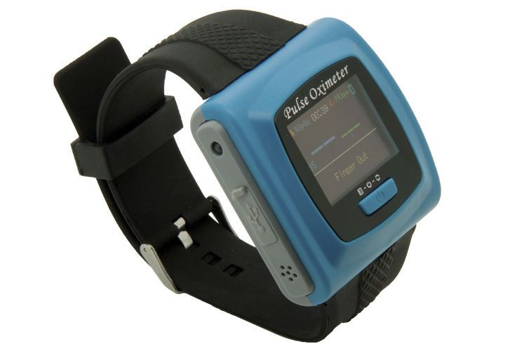 Wrist pulse oximeter / wireless CMS50FW Contec Medical Systems