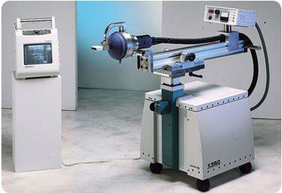Orthopedic treatment extra-corporeal shock wave generator / human / on trolley Orthima Direx