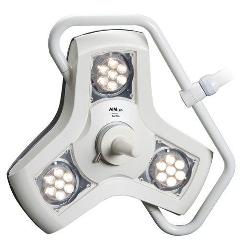 LED examination lamp / ceiling-mounted 45 000 lux @ 1 m | AIM LED Burton Medical
