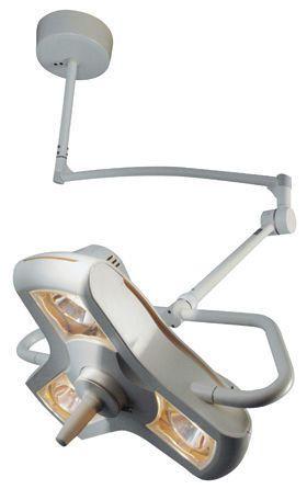 Halogen surgical light / ceiling-mounted / 1-arm 63 000 lux @ 1 m | AIM-100® Burton Medical
