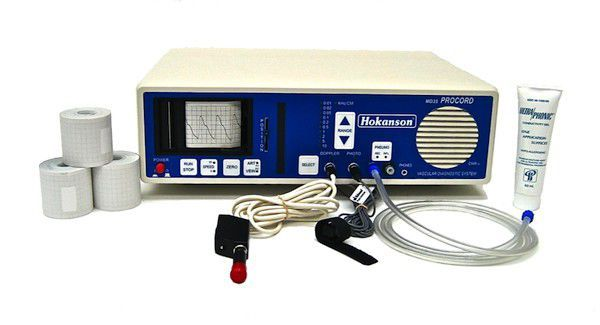 Vascular doppler / bidirectional / with ABI calculation / portable MD35 Procord Basic D. E. Hokanson