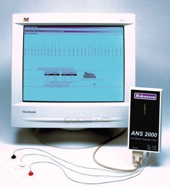 Digital electrocardiograph / computer-based ANS2000 D. E. Hokanson