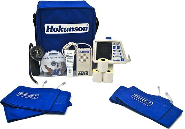 Examination doppler kit with ABI calculation ABI Kit D. E. Hokanson