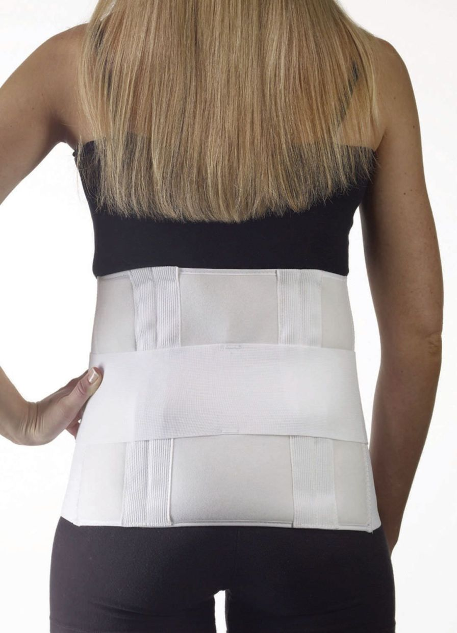 Sacral support belt / lumbar / lumbosacral (LSO) / with reinforcements 35-150 Corflex
