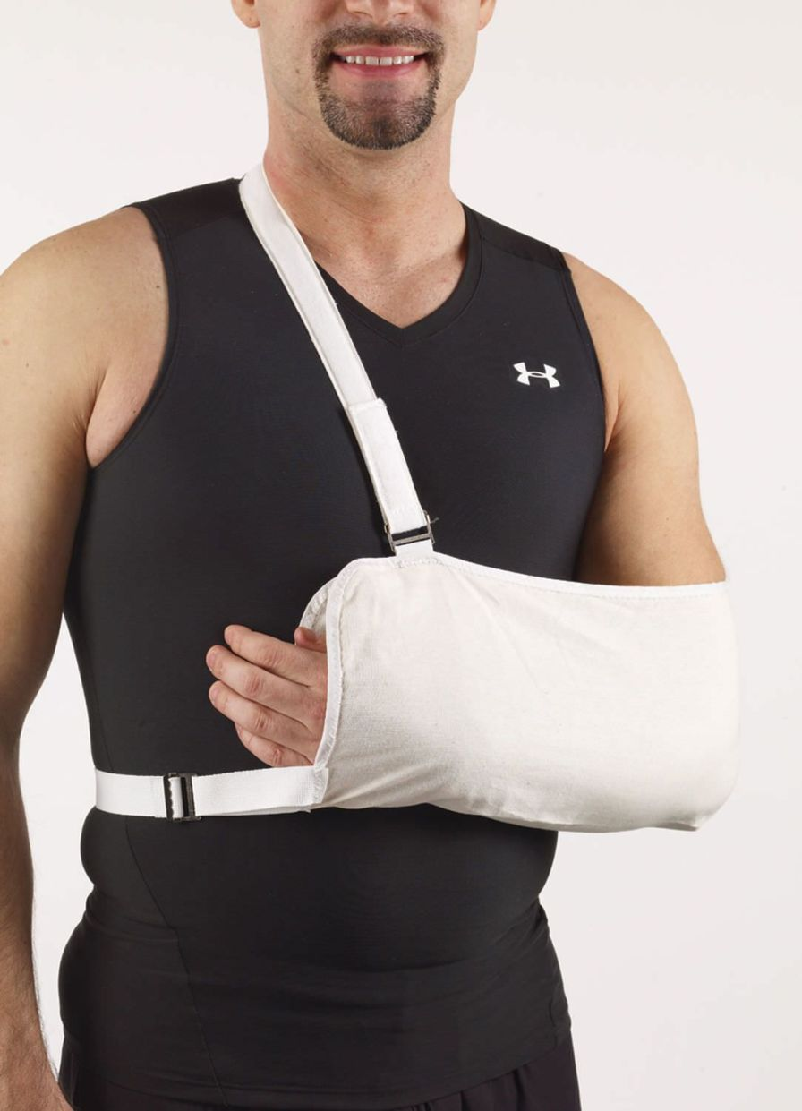 Arm sling with waist support straps / human 23-1743 Corflex