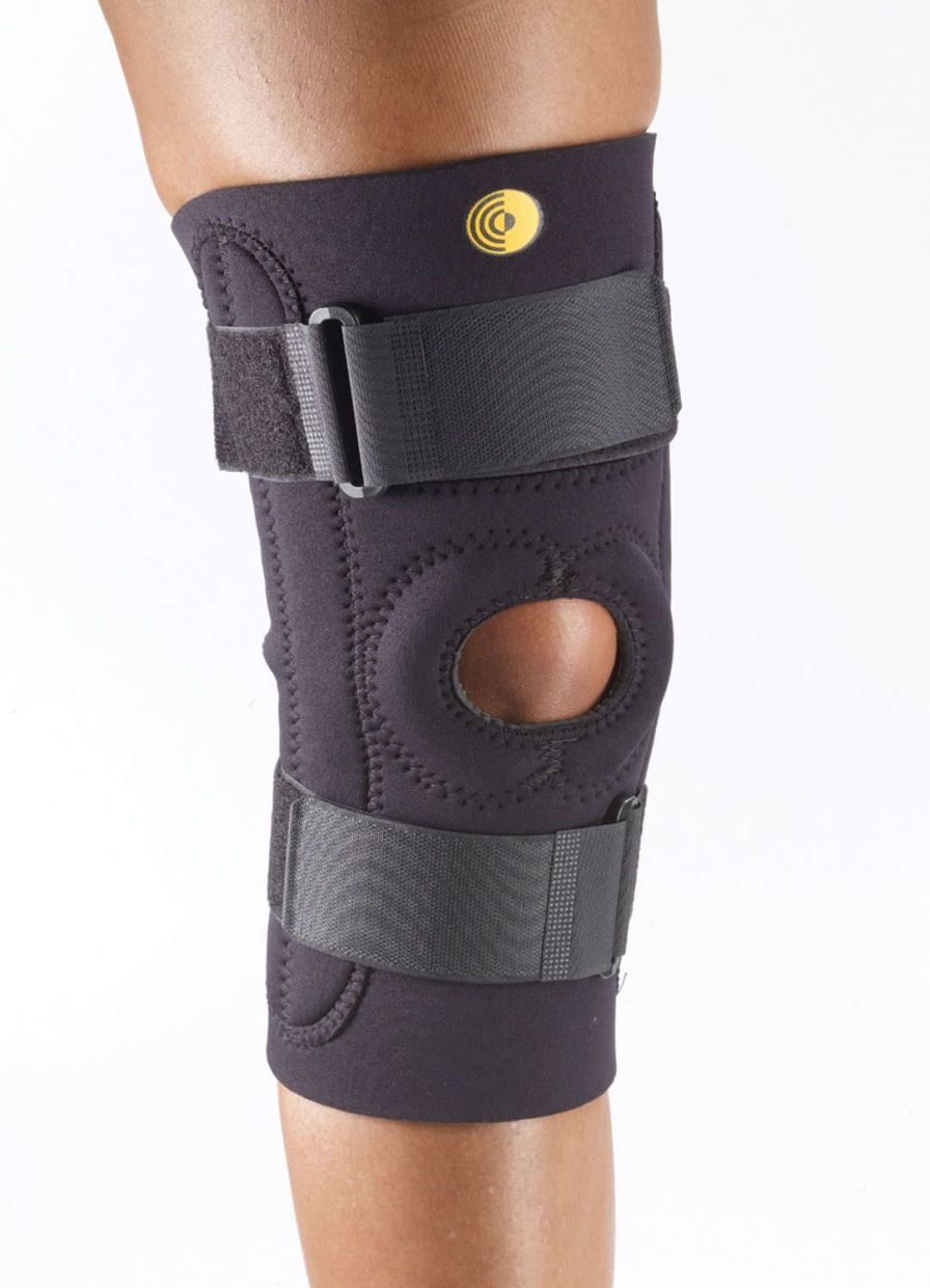 Knee orthosis (orthopedic immobilization) / with patellar buttress / with flexible stays / open knee 88-8175 Corflex