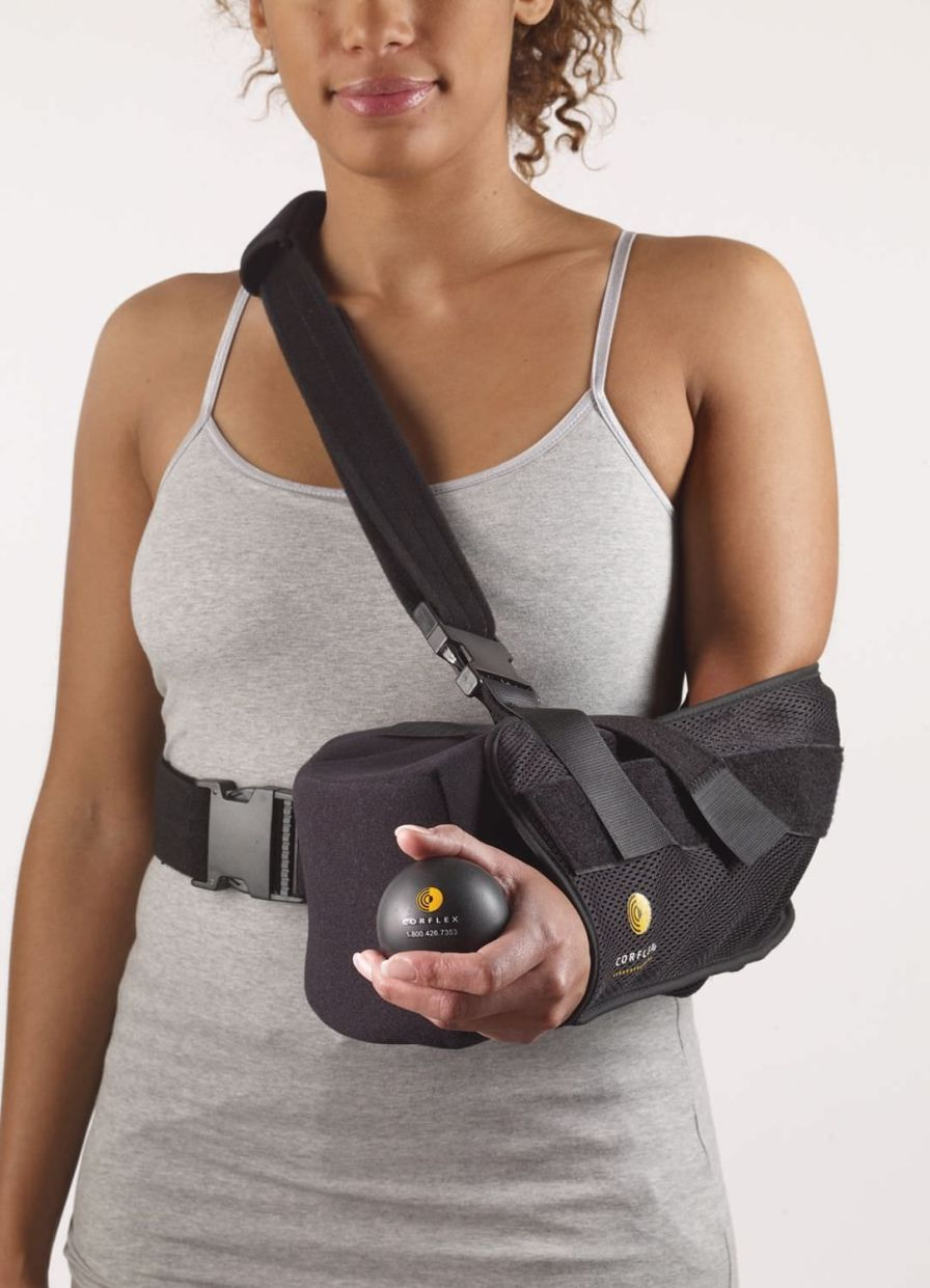Arm sling with shoulder abduction pillow / human 23-1921 / 23-1922 / 23-1923 / 23-1924 Corflex