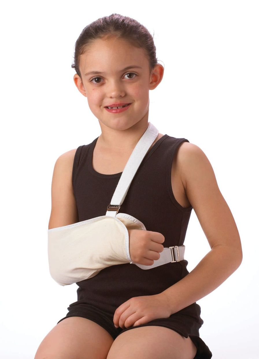 Arm sling with waist support straps / pediatric 23-1740 Corflex