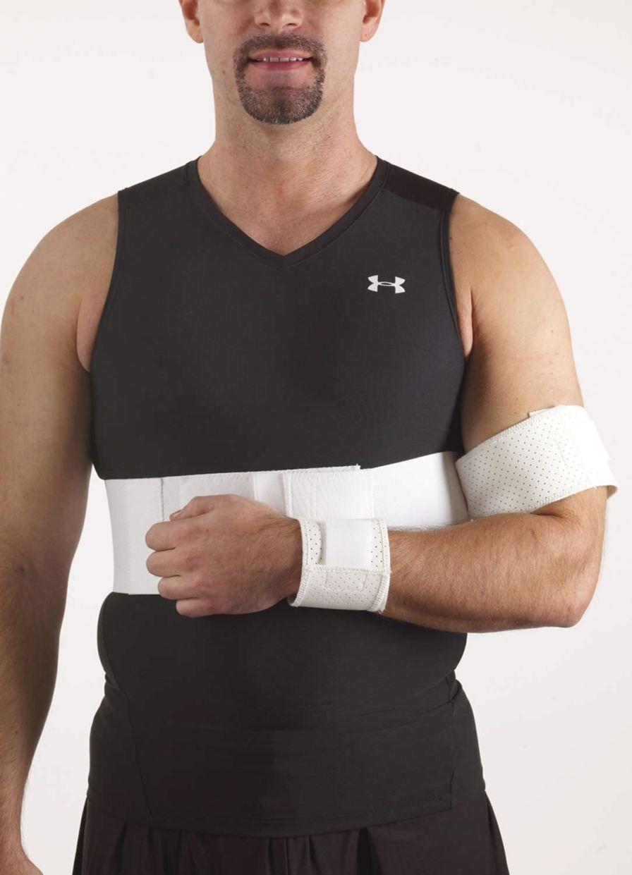 Shoulder splint (orthopedic immobilization) / with attachment strap 23-5240 / 23-5241 / 23-5242 / 23-5243 / 23-5244 / 23-5245 Corflex