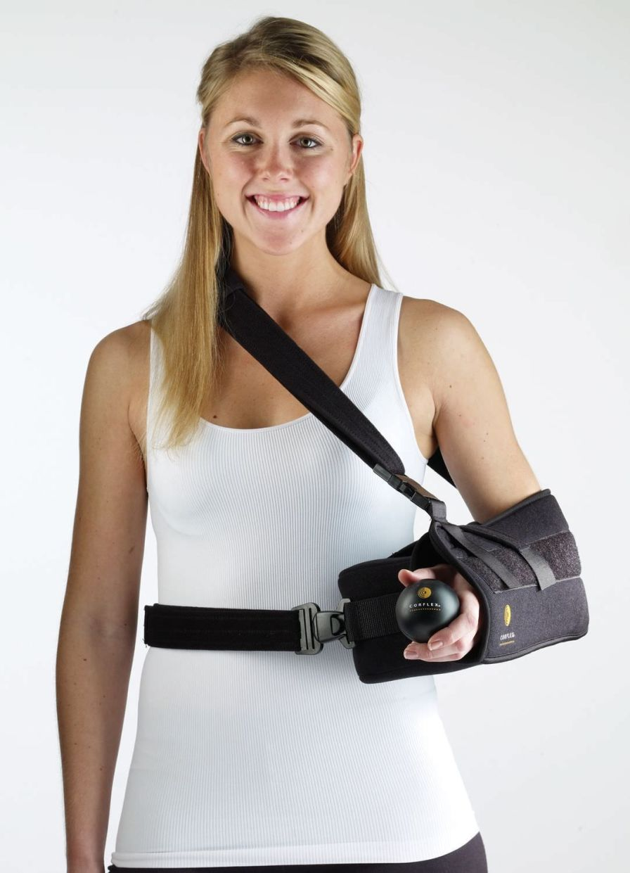 Arm sling with shoulder abduction pillow / human 23-1931 / 23-1932 / 23-1933 / 23-1934 Corflex