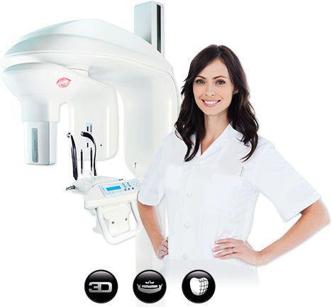 Panoramic X-ray system (dental radiology) / dental CBCT CAD/CAM scanner / digital CS 9000 3D Carestream Dental