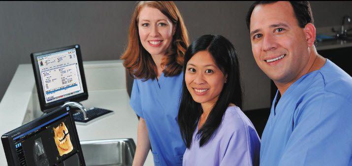 Management software / medical / dentist office CS WinOMS Carestream Dental