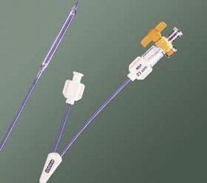 Drainage catheter / ureteral / balloon / double-lumen UROFORCE® Bard Medical
