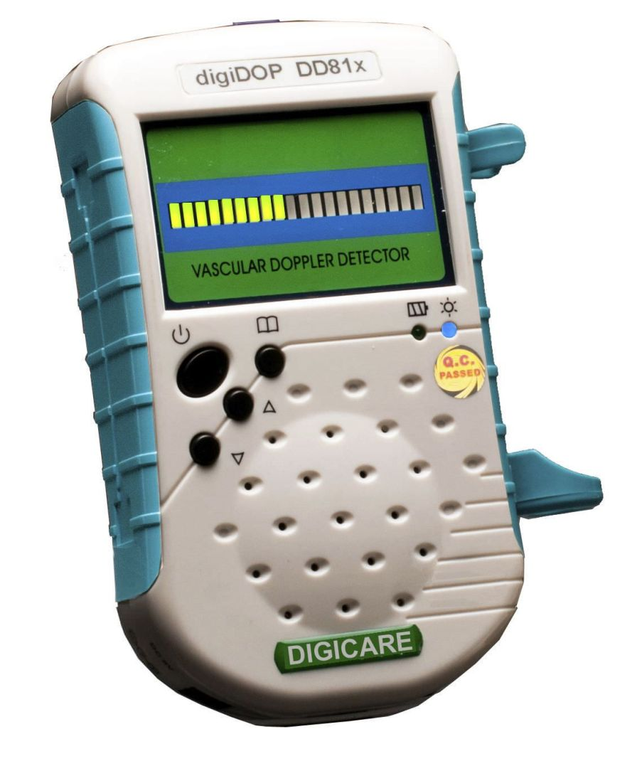 Vascular doppler / veterinary / pocket digiDOP DD81x Digicare Biomedical Technology