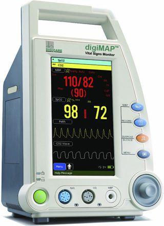 NIBP patient monitor / SpO2 DigiMAP DM8x Digicare Biomedical Technology
