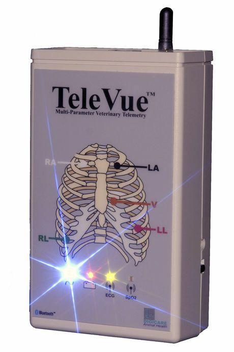 ECG transmitter / TEMP / RESP / computer-based TeleVue™ Digicare Biomedical Technology
