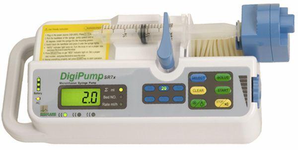 1 channel syringe pump DigiPump™ SR7x Digicare Biomedical Technology
