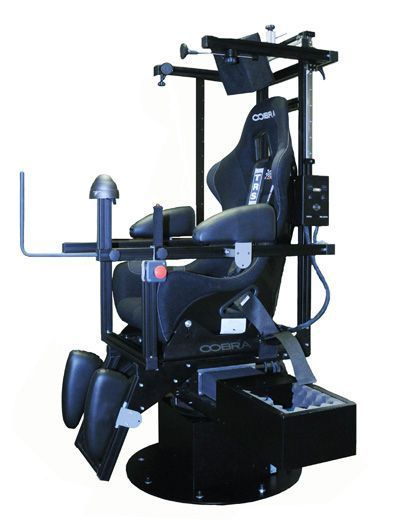 Rotary chair for vestibular testing GigaTorque DIFRA