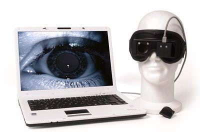 Videonystagmoscope vestibular disorder testing system DI 140919 DIFRA