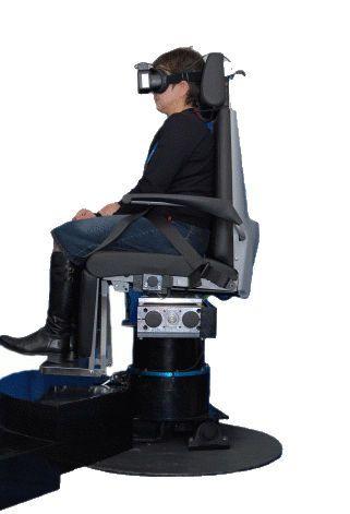 Rotary chair for vestibular testing MegaTorque DIFRA