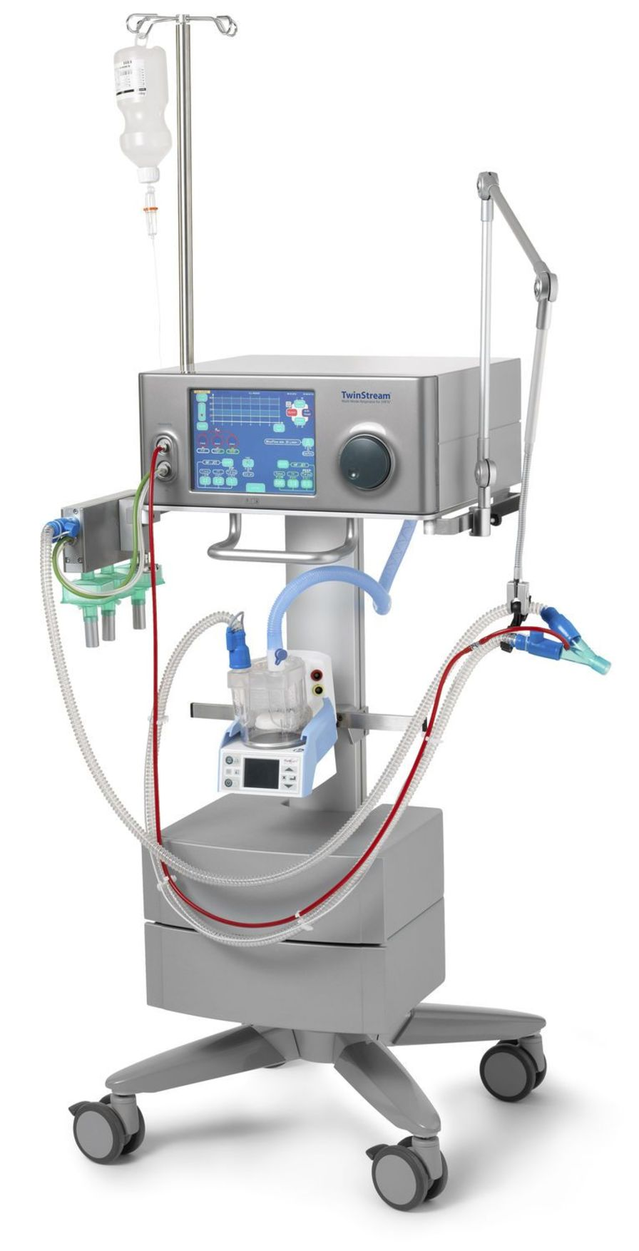 High-frequency jet ventilator / resuscitation TwinStream™ ICU Carl Reiner GmbH