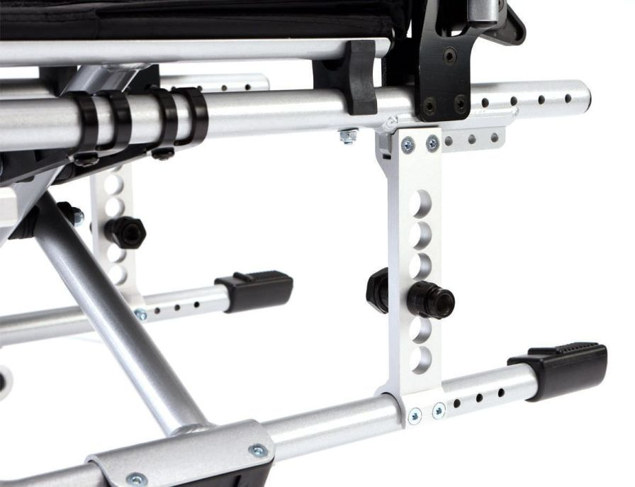 Passive wheelchair / height-adjustable Max. 125 kg | PYRO LIGHT OPTIMA Bischoff & Bischoff