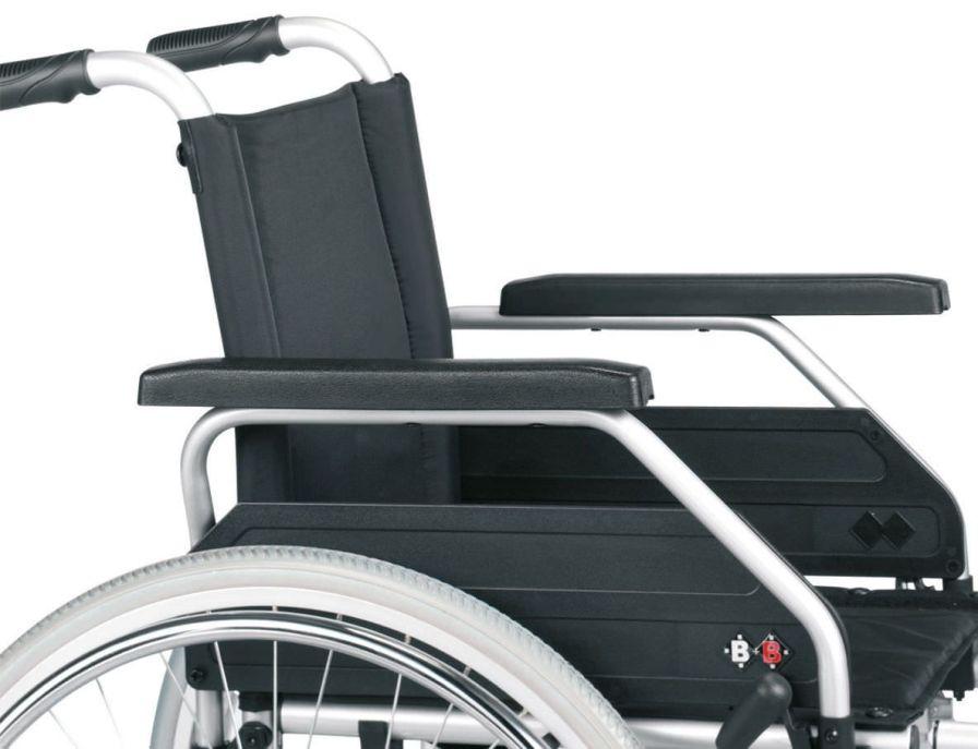 Passive wheelchair Max. 125 kg | S-ECO 300 Bischoff & Bischoff