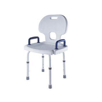 Shower chair / height-adjustable Max. 110 kg | DH-40/L Bischoff & Bischoff