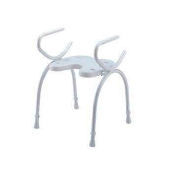 Shower stool Max. 120 kg | VARADERO Bischoff & Bischoff