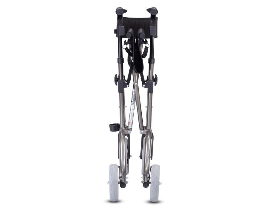 4-caster rollator / with seat / height-adjustable Max. 136 kg | RL-SMART Bischoff & Bischoff