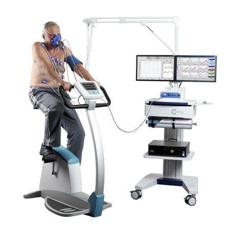 Cardio-respiratory stress test equipment / desk meta control 3000 CORTEX Biophysik