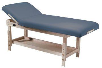 Manual massage table / height-adjustable / 2 sections Taj Mahal Custom Craftworks