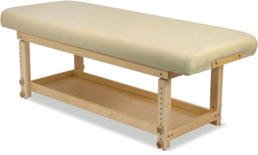 Manual massage table / 1 section Taj Mahal - Basic Custom Craftworks