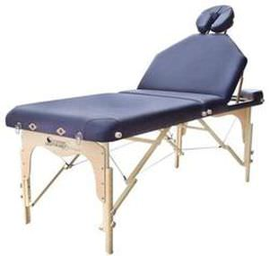 Manual massage table / height-adjustable / folding / portable Destiny LiftBack Custom Craftworks