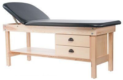Manual massage table / 2 sections Edge Sport Custom Craftworks