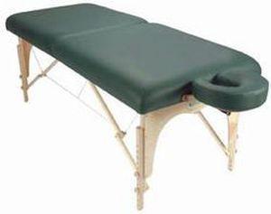 Manual massage table / portable / folding / height-adjustable Omni Custom Craftworks