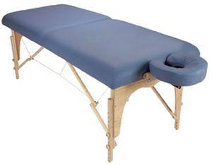 Manual massage table / height-adjustable / folding / portable Athena Custom Craftworks