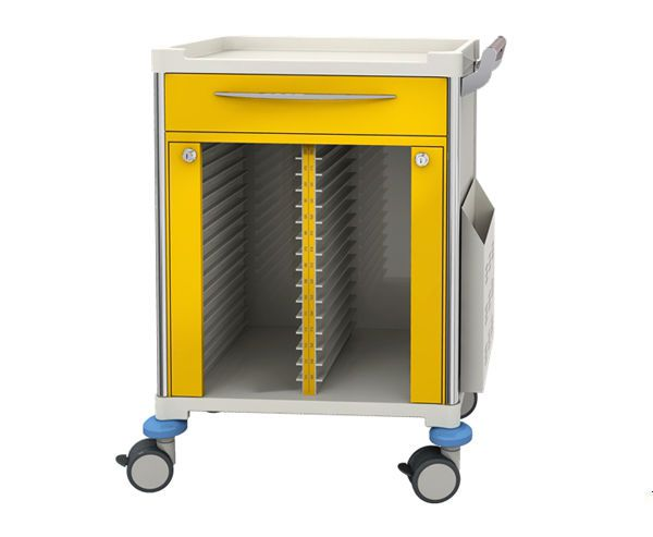 Medical record trolley / closed-structure / horizontal-access / secure DEBL254 A BEIJING JINGDONG TECHNOLOGY CO., LTD