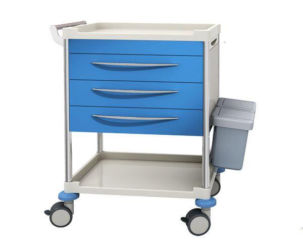 Treatment trolley / with drawer / 2-tray JDEZL254 B BEIJING JINGDONG TECHNOLOGY CO., LTD