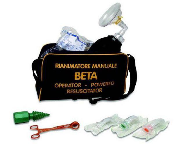Manual resuscitation medical kit 742/00 CARLO DE GIORGI SRL