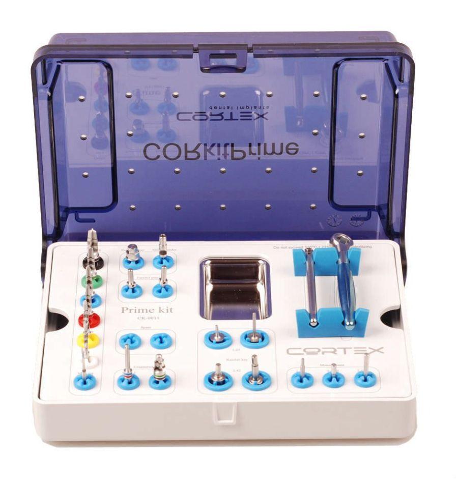 Dental surgery instrument kit / for implantology CK-0011 Cortex-Dental Implants Industries Ltd.