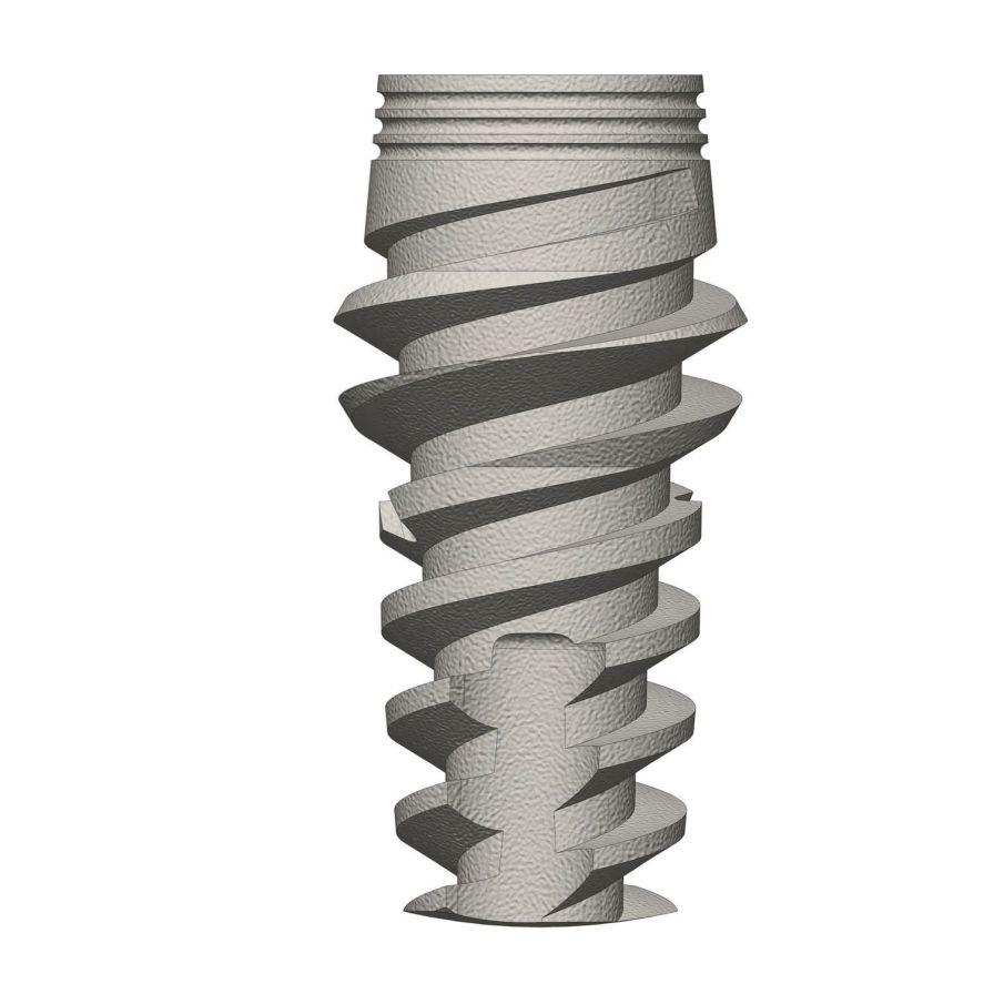 Titanium dental implant / internal hexagon ø 3.3 - 4.2 mm | Saturn Prime series Cortex-Dental Implants Industries Ltd.