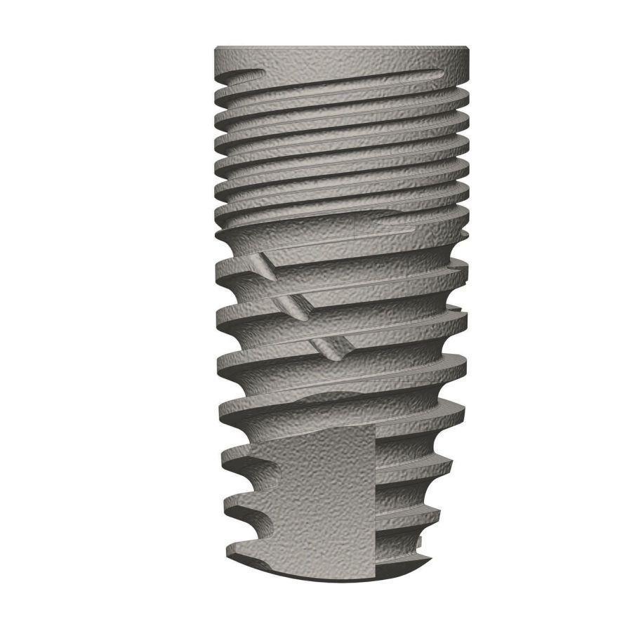 Cylindrical conical dental implant / titanium / internal hexagon ø 3.3 - 6 mm | Classix Prime series Cortex-Dental Implants Industries Ltd.